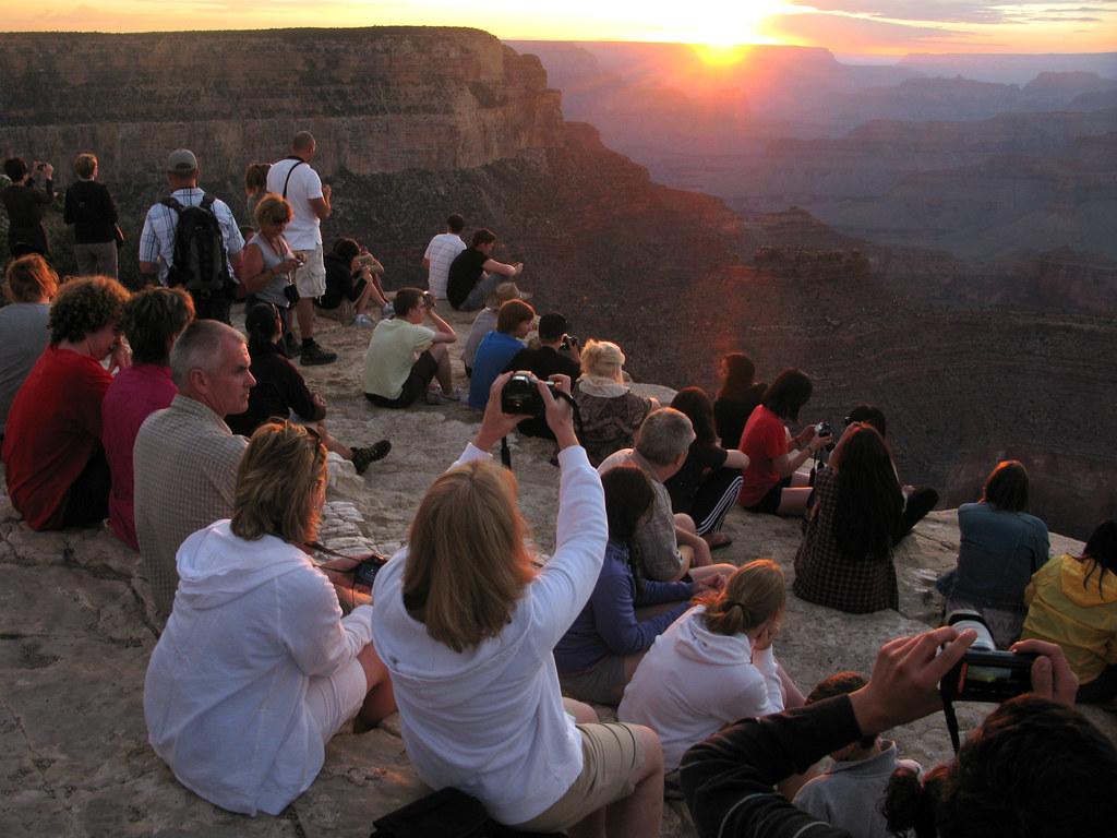 Grand Canyon: Sunset at Yavapai Point: SR 0700