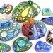 New Mosaic Stones by Waschbear - Frances Green