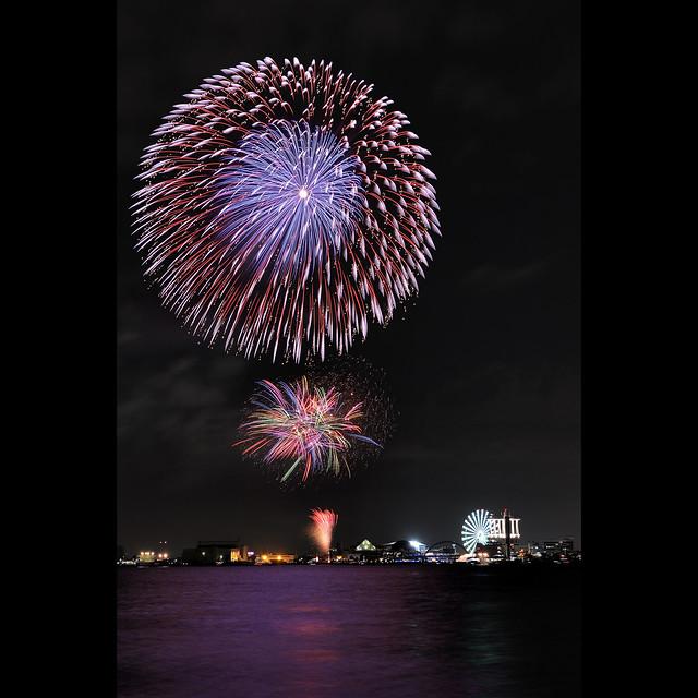 Fireworks @ Port Nagoya