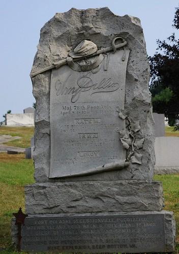 grave gravestone mtolivetcemetery hanoverpa civalwarveteran