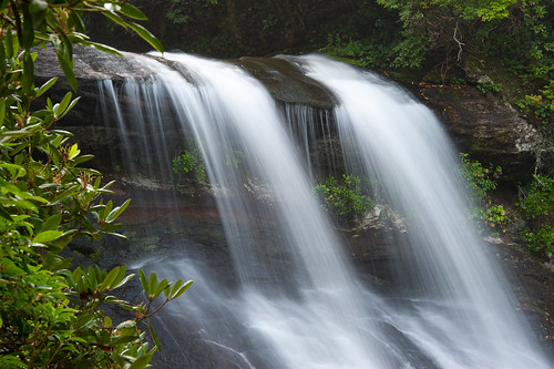 nc northcarolina falls waterfalls nantahalanationalforest silverrunfalls highhamptonnc