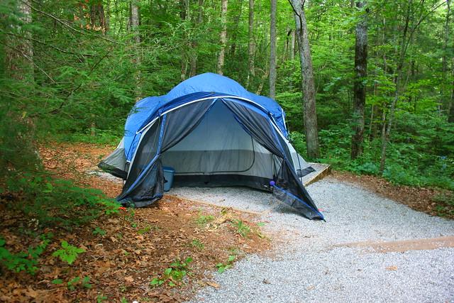 Camping at Lake Winfield Scott