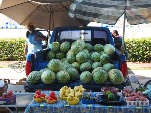 Shreveport Farmers' Market: Truck full of melons | by Shreveport-Bossier: Louisiana's Other Side