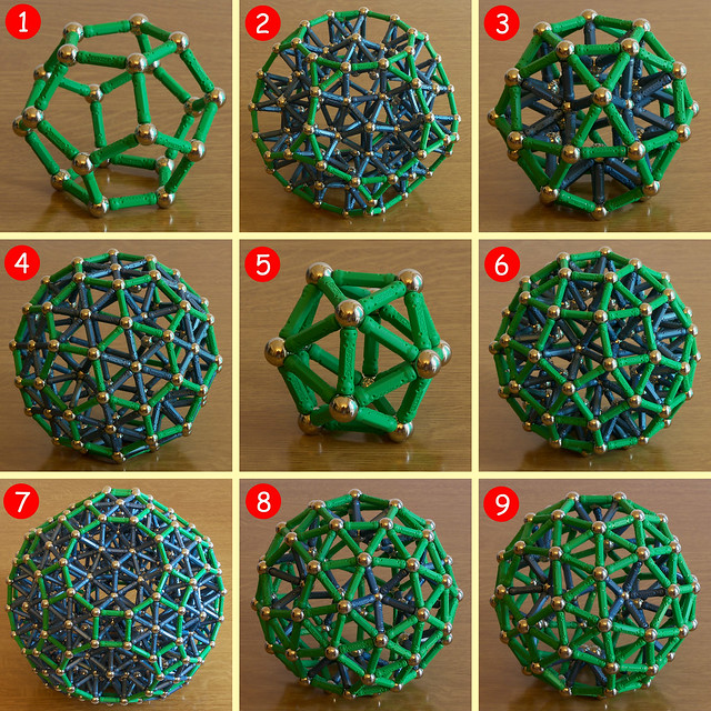 About Dodecahedrons and Icosahedrons