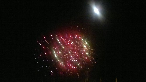 Pre-Bastille Day Fireworks La Ciotat 2011