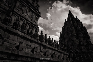 prambanan from below | by ndhik