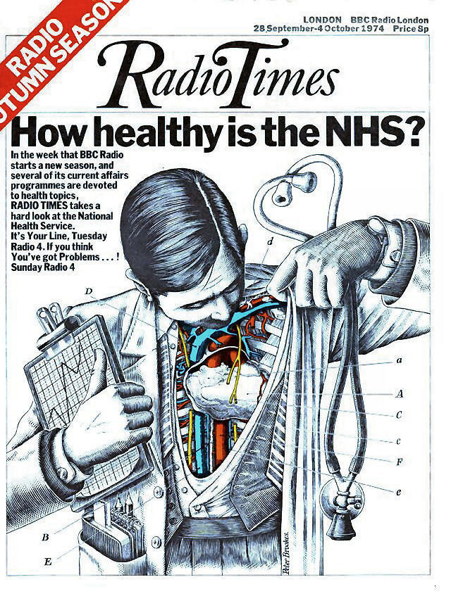 Radio Times Cover 1974-09-28 NHS   combomphotos   Flickr