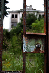 #65 Abandoned Hospital - Lock Bokeh (2)