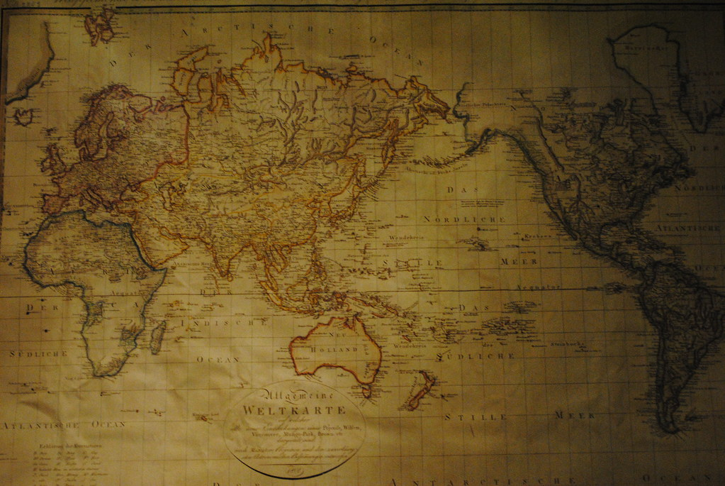 Berlin. World map | World map in XIX century. The Story of B ...