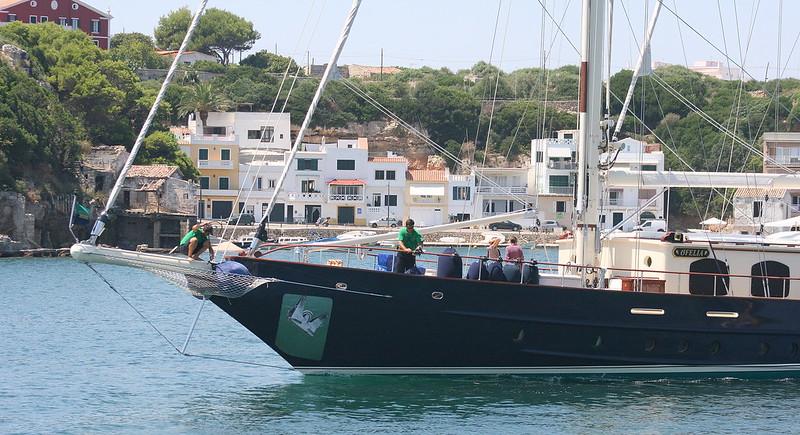 Ofelia Sail Yacht. Port of Mahon, Menorca / Minorca