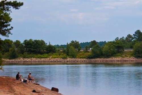 reflection water georgia fishing fishermen lagrange troupcounty westpointlake thesussman sonyalphadslra200