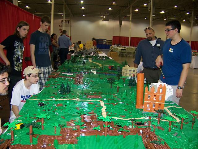 BrickFair 2011 - Wargaming