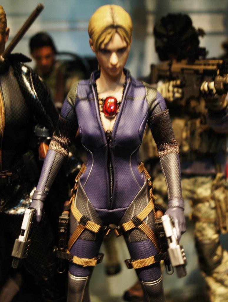 Jill Valentine Battle Suit Version Resident Evil 5 Ps3