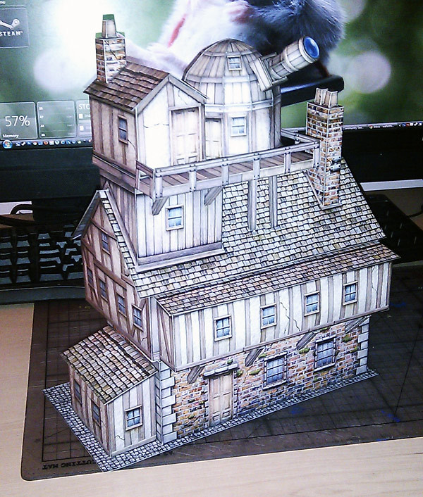 Inventors House | Inventors house from Dave Graffam models  … | Flickr