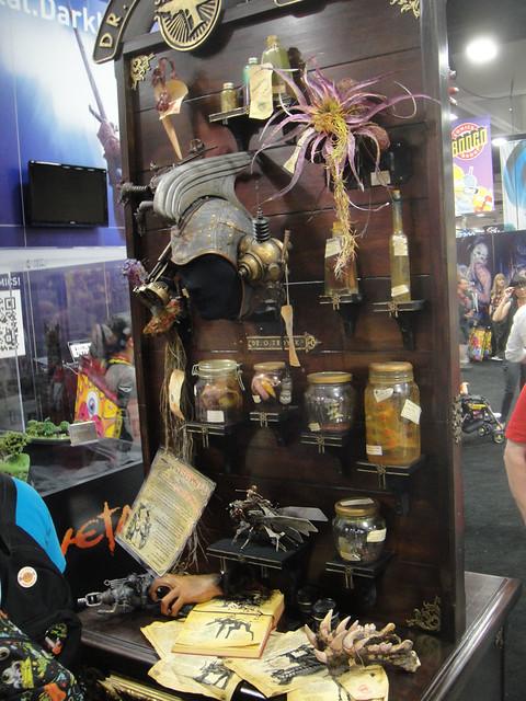 San Diego Comic-Con 2011 - Dr Grordbort's steampunk accessories (Weta booth)