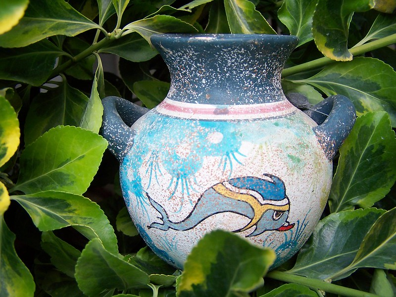 Ode to a Greek Urn and Pottery in the Garden
