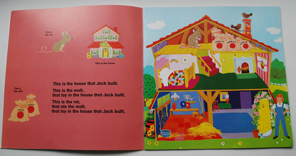 This is the house that Jack Built   Fun book with cutouts be