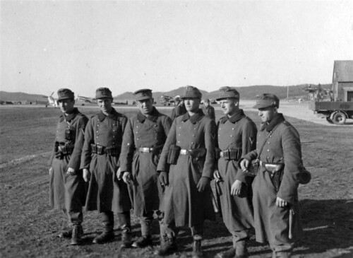 Muligens Værnes Flyplass 1940