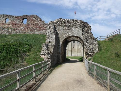 Castle Rising Castle - bridge | by ell brown