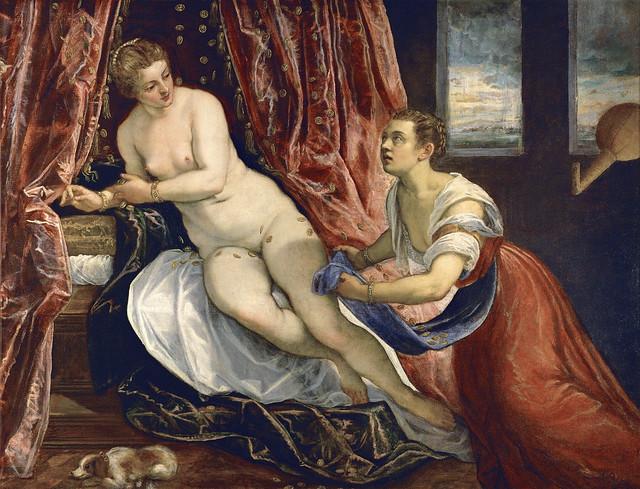 Tintoretto - Danae