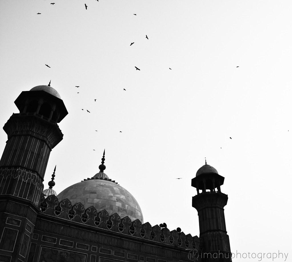 Badshahi Masjid Mahu K Flickr