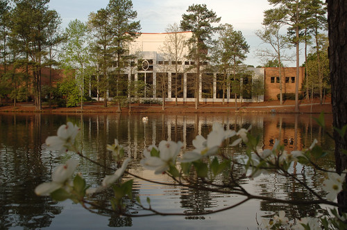 Spivey Hall during the spring | Spivey Hall in the early ...