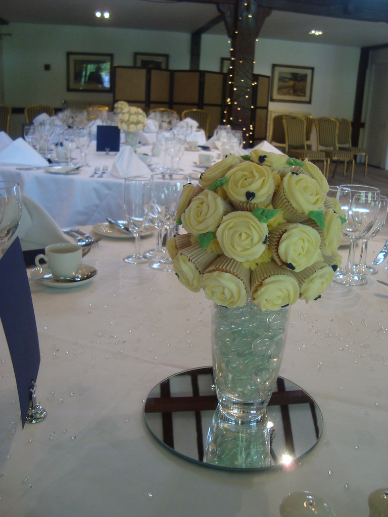 Flickr & Cupcake bouquet vase | Cupcake bouquet table centre for my f ...