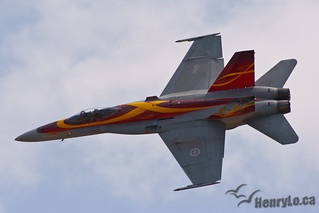 CF-18 demo jet | by Henry_Lo
