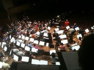 kc 12 orchestra rehearsal