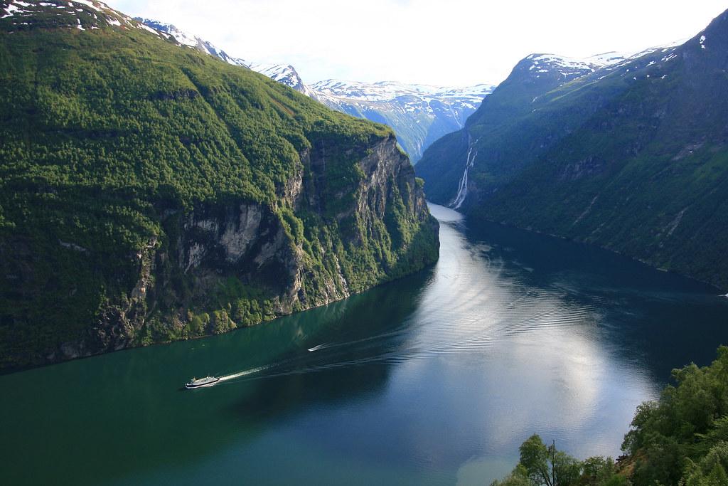 (1418) Der Geirangerfjord