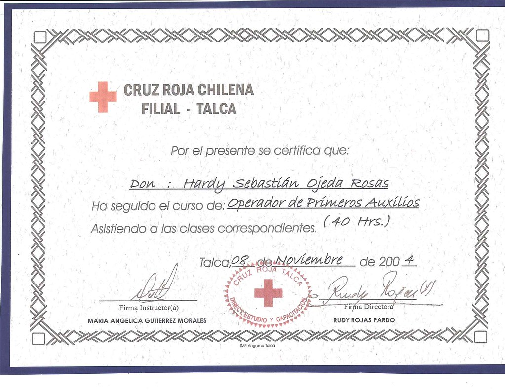 All sizes   Certificado Primeros Auxilios   Flickr - Photo