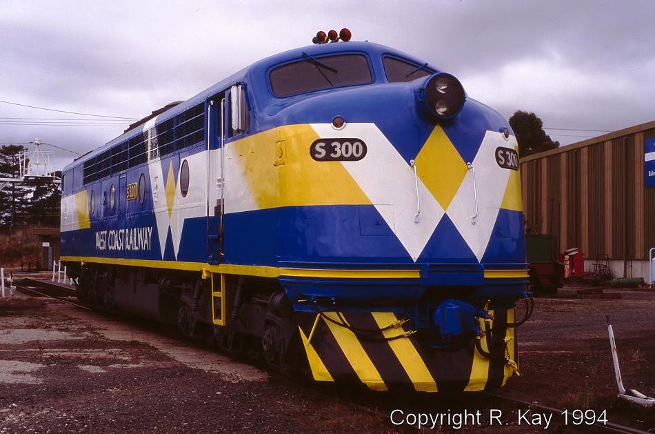 S-300 at Ballarat East Loco Depot by Robert Kay