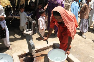 Providing clean water and flood-resistant shelter | by DFID - UK Department for International Development