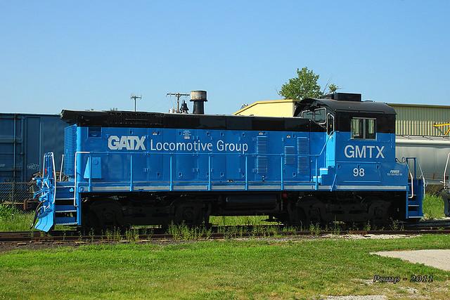 GMTX 98 - EMD SW1001 at Kansas City, MO