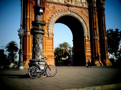 Bcn julio 2011.Bici. My Beautiful Parking.17   by Mataparda