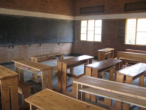 Surprisingly empty classroom (no drawings on the wall etc.) | by Sustainable sanitation