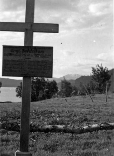 Graven til engelsk soldat ved Hemnesberget