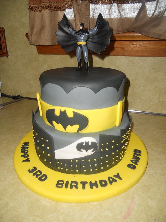 Boys Batman Birthday Cake