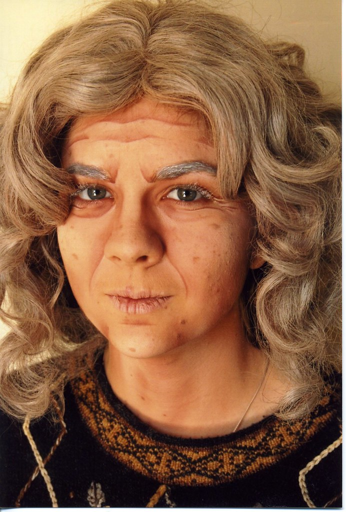 Extreme Old Age | Theatrical old age makeup  | Katey