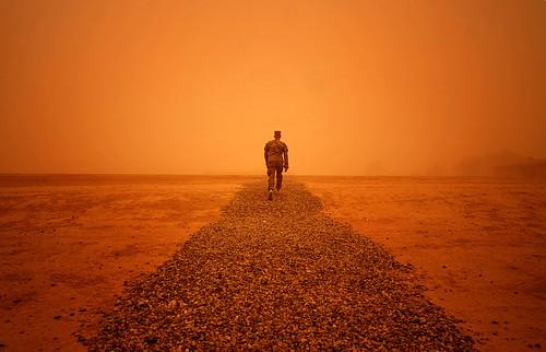 Iraq sandstorm [Image 2 of 2]   by DVIDSHUB