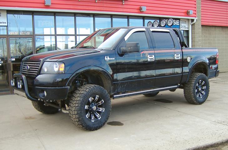 2008 Ford F150 Aries Black Bull Bar Go Rhino Black Rol