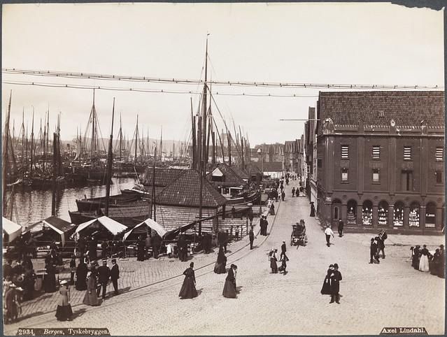 2934. Bergen, Tyskebryggen