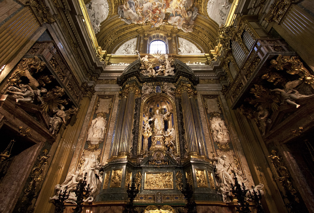 St Ignatius Altar In Rome The Altar Of St Ignatius