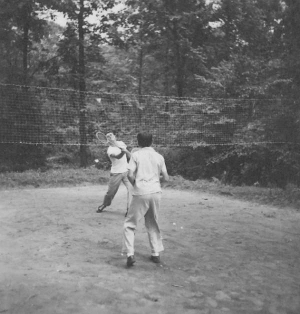 Laurelville Mennonite Camp Game Caption July 1947 Laure Flickr
