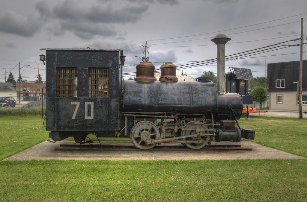 Porcupine Locomotive