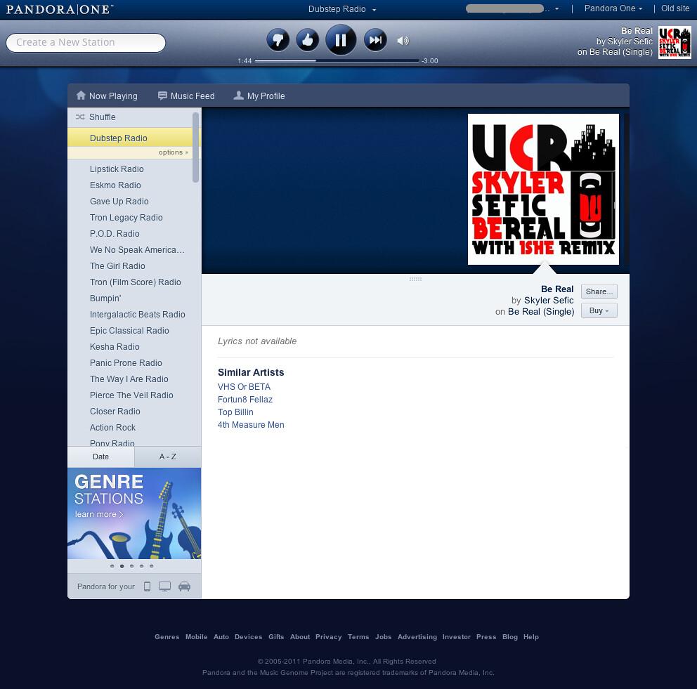 Pandora Radio - Listen to Free Internet Radio, Find New Mu… | Flickr