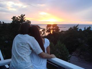 wellComing - romantic evening, hotel HavsVidden terrass, Åland | by wellComing