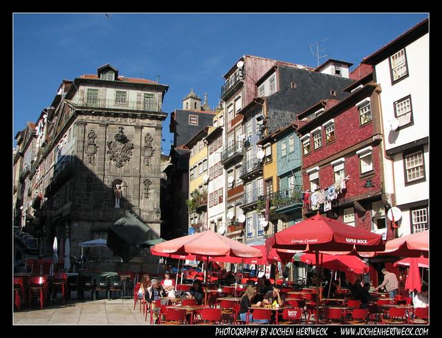 Praca da Ribeira, Porto, Portugal