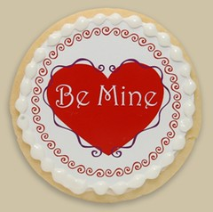 Leigh Hannan Valentine Cookie | by Michael's Cookie Jar