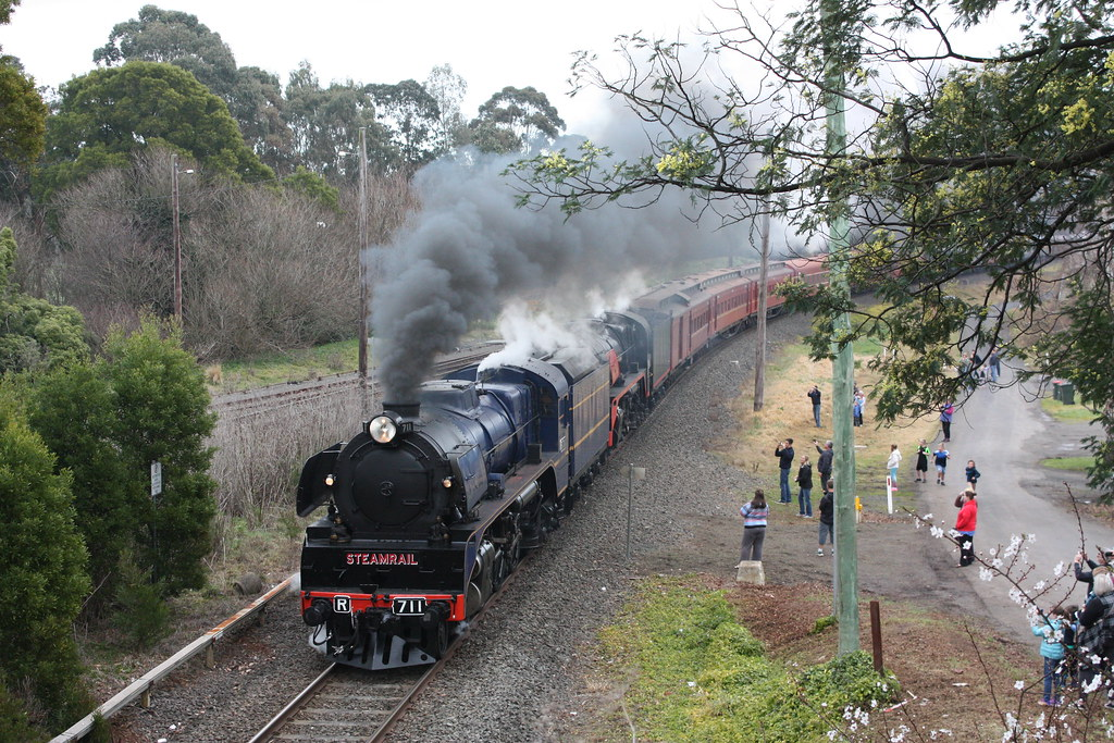 Arrival at Warragul by Alan Greenhill